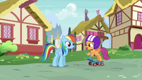 Scootaloo --the Rainbow Dash Fan Club just decided-- S6E7