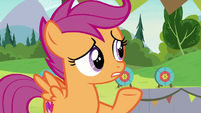 Scootaloo -he didn't have much luck- S7E21