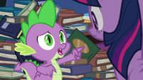 Spike -maybe you just don't like- S8E24