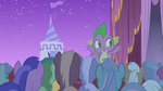 Spike cheering for Rarity S1E14
