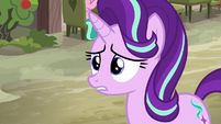 Starlight Glimmer in saddened shock S6E25