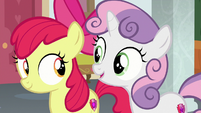 Sweetie Belle agrees with Scootaloo S8E12