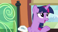 Twilight Sparkle --I don't think your presence-- S6E16