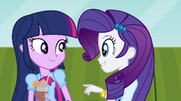 Twilight and Rarity -so much catching up to do- EG2