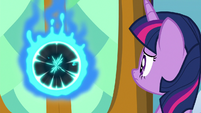 Twilight notices a magic portal opening S8E2