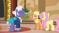 AJ and Fluttershy impressed by Gladmane's values S6E20