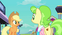 Applejack and Ms. Peachbottom S03E12