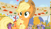 Applejack asks how's that even possible S1E13