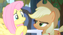 Fluttershy 'Now wait just a minute' S4E07