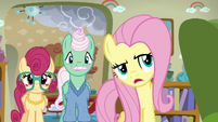 Fluttershy --maybe if you stuck with it-- S6E11