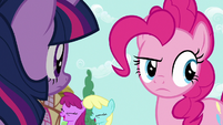 Pinkie Pie hears her fans laugh yet again S7E14
