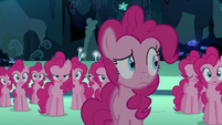 Pinkie Pie looks weird S3E03