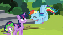 "Rainbow Dash ""gonna be amazing!"" S8E7"