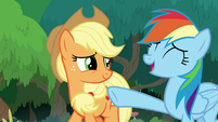 Rainbow Dash being modest S8E9