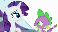 """Rarity """"a song is a lovely present"""" MLPBGE"""