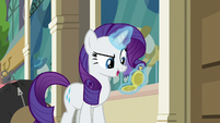"Rarity ""still time to catch the train"" S8E4"