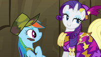 Rarity defending Spike S2E21