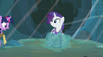Rarity engulfed by ice S2E11