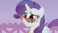 Rarity hoping for the best S1E14