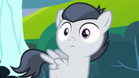 Rumble's eyes widen with realization S7E21