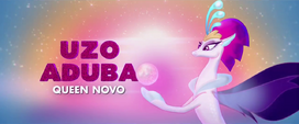 Second trailer promo shot of Queen Novo MLPTM
