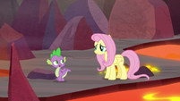 "Spike ""you cheer up Garble"" S9E9"