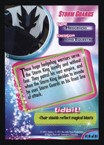 Storm Guards MLP The Movie trading card back