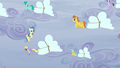 Sunshower overseeing the cloud transportation S5E5.png
