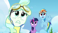 Twilight, Rainbow, and Vapor watch Sky fly off S6E24.png