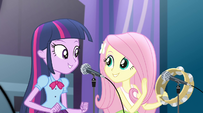 Twilight and Fluttershy singing together EG2