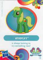 Wave 11 Wensley collector card