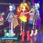 553192 safe rarity trixie equestria+girls toy sunset+shimmer doll rainbow+rocks spoiler-colon-rainbow+rocks toy+fair