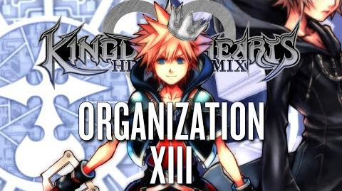 All Organization XIII Data Battles KINGDOM HEARTS HD 2.5 REMIX