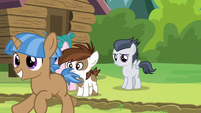 Another camper colt crosses the camp-dividing line S7E21