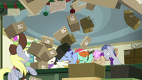 Avalanche of mail packages MLPBGE