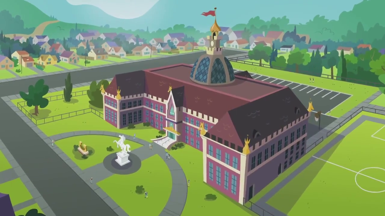 Canterlot high school my little pony friendship is magic wiki canterlot high school sciox Choice Image