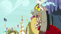 """Discord """"you know, thinking back"""" S9E23"""