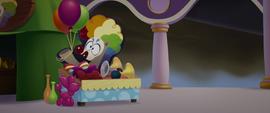 Festival stands of clown supplies MLPTM