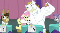 Fluttershy and Bulk Biceps on a team S9E16