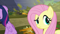Fluttershy hears animal sounds S5E23