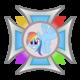 Krzyż Rainbow Dash