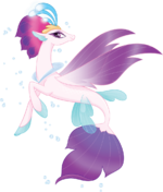 MLP The Movie Queen Novo official artwork