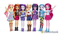 Mane Seven Equestria Girls Classic Doll Assortment lineup