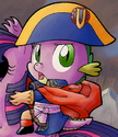 Micro-Series issue 9 Spike as Napoleon