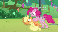 Pinkie's third --how-- to Applejack S5E24