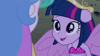 Princess Twilight half-pony form EG