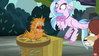 Puckwudgie menacing Silverstream and Yona S8E2