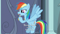 Rainbow Dash -only true thing in that- S9E21
