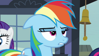 Rainbow Dash annoyed -almost- S03E12