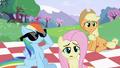 Rainbow Dash putting on sunglasses S2E03.png